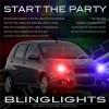 Pontiac G3 Strobe Police Light Kit for Head Lights Strobes