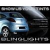 Ford Ka Tinted Smoked Protection Film Overlay for Tail Lights