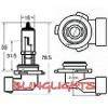 H10 Xenon White Halogen Light Bulbs for Driving Fog Lights Fog Lights Lamp Ligh