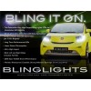 2009-2012 Toyota Scion iQ LED DRL Light Strips Head Lights Day Time Running Lam