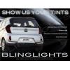 Kia Picanto Tinted Smoked Protection Overlay Film for Tail Lights