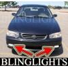 1998 1999 2000 2001 2002 Toyota Corolla ve ce le Xenon Fog Lights Driving Light