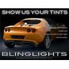 Lotus Exige Smoke Tint Tail Light Lamp Film Overlay Kit Tail Lights Protection
