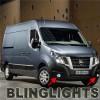 Nissan NV Cargo Passenger Van Halo Fog Lights Angel Eye Driving Lights NV200 NV