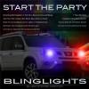 Nissan X-Trail Head Lights Strobes Light Kit Xtrail