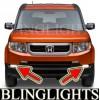 2009 2010 2011 Honda Element Xenon Fog Lights Driving Fog Lights Kit