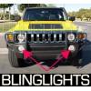 2006 2007 2008 2009 2010 Hummer H3 Xenon Fog Lights Driving Lights Kit h3x h3t