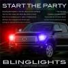 Toyota Tundra Head Lights Strobe Lights Kit