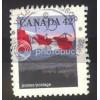 Canada 1356 Flag 13 1/2X13 CV = 0.20$