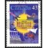 Canada 1562 Manitoba CV = 0.25$