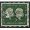 1954 GERMANY Scott 722 (Michel 197) MNH SINGLE
