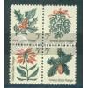 1254-1257 5c Christmas Fine MNH Plt/4 LR 27929 Plt03727