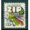 1511 10c Zip Code Fine MNH Plt/8 UR 34415-18 Plt00277