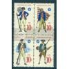 1565-1568 10c Miltary Fine MNH Plt/20 UL 36059-64 PltL5169