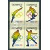 1695-1698 13c Olympics Fine MNH Plt/20 UR 37435-40 PltL5620