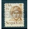 1859 19c Sequoyah Fine MNH Dry Gum