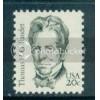 1861 20c Gallaudet Fine MNH Dry Gum Plt/4 UR 1 Plt1737