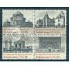 1928-1931 18c Architecture Fine MNH Plt/4 LL 7 Plt03168