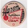 MI Watervliet Milk Bottle Cap Name/Subject: Haxon Dairy Coffee Cream~119