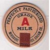MO Milk Bottle Cap Name/Subject: Missouri Ice Cream Co. Grade A Milk~188