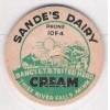 MI Thief River Falls Milk Bottle Cap Name/Subject: Sande's Dairy Cream~247