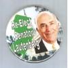 NJ Senator   Candidate:   Lautenberg   Type:   Political Campaign Button~2