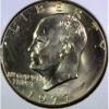 1977-D Unc. Ike Dollar.