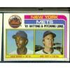 100 1982 Topps Baseball #246 New York Mets Team Leaders