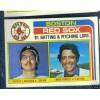 1 1982 Topps #786 '81 Boston Red Sox Leaders