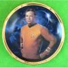 Kirk 25th Anniversary Gold rimmed Star Trek Plate