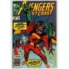 1989 Avengers West Coast Comic # 52 - Vg