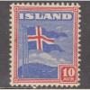 UNUSED ICELAND #228 (1939)