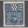 UNUSED/NH SAINT PIERRE & MIQUELON #J69 (1947)