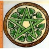 Ivy Pentacle EARTH Window Cling Decal