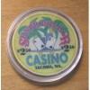 $2.50 Silver Dollar Casino Chip - Tacoma, Washington