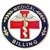Medical Billing Lapel Pin Professional Red Cross Caduceus Exclusive Design 115