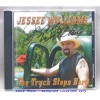 Hand Autographed Jessee Williams The Truck Stops Here CD And Photo Style B Set