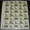 US, Scott# 1764-1767, fifteen cent American Trees sheet of 40 stamps