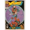 1991 X-Force Comic # 2 – VG