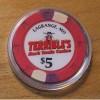 TERRIBLE's MARK TWAIN $5. CASINO CHIP - La grange, Mo - Shipping Discounts