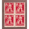 GERMANY-BAYVERN  MINT NH BLOCK OF 4 (15 pf.)  N 431