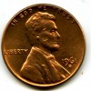 1961d 1MM-004 Chbu Red Lincoln Cent