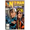 1990 Nth Man Comic # 9 – VF+