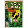 1989 The Mutant Misadventures of Cloak And Dagger Comic # 8 – LN