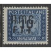 1949 Trieste Zone A   10 Lire  postage due with op  mint*, Scott J13