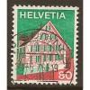 1973  SWITZERLAND  80 c.  Eastern Switzerland  used, Scott # 568