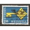 1968 SWITZERLAND  20 c.  EUROPA  issue  used, Scott # 488