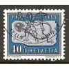 1959 SWITZERLAND  40+10 c. Pro Patria  issue  used, Scott # B286