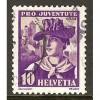 1934 SWITZERLAND  10 c. Pro Juventute  issue used, Scott # B70