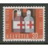 1963 SWITZERLAND  30+10 c. Pro Patria  issue mint**, Scott # B327